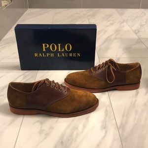 Men's Polo Ralph Lauren Leather and Suede Shoes